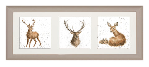 Wrendale A Trio of Framed Cards - 19 Combinations