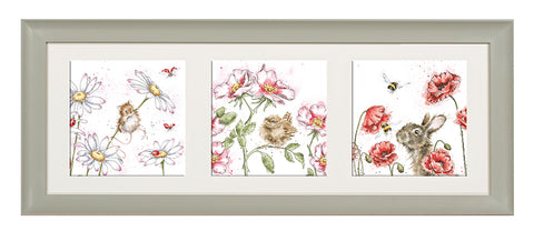 Wrendale A Trio of Framed Cards - 18 Combinations