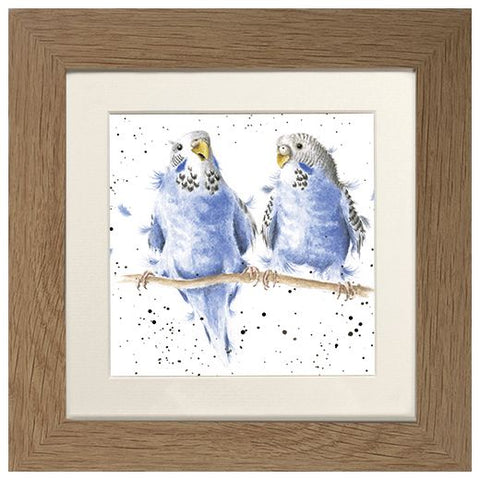 Wrendale Framed Greeting Cards - Zoology Collection One