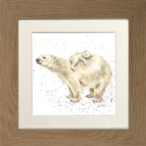 Wrendale Framed Greeting Cards - Zoology Collection Two