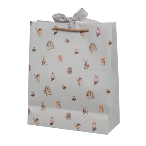 Wrendale Large Gift Bag - Woodlanders