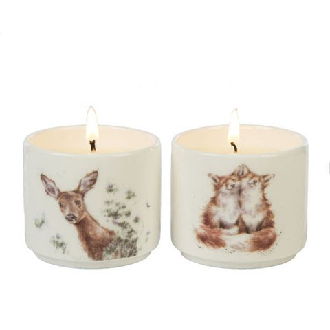 Wrendale Candle Gift Set Woodland