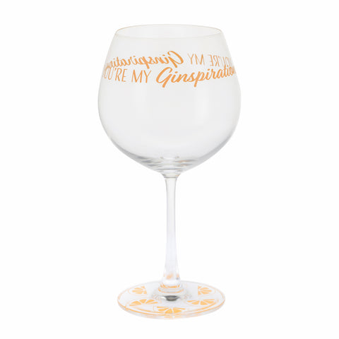 Dartington Crystal Gin Time Copa You're My Ginspiration ( SOLD OUT )