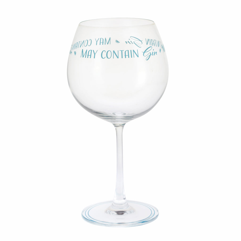 Dartington Crystal Gin Time Copa May Contain Gin
