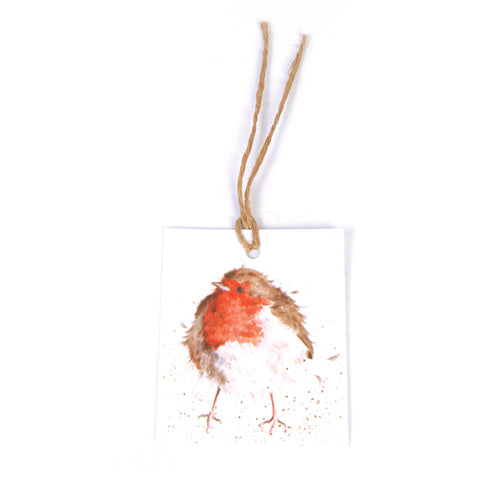 Wrendale Christmas Robin Gift Tag