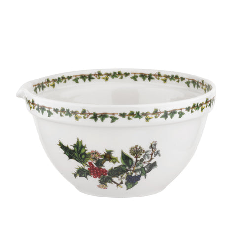 The Holly & the Ivy Mixing Bowl - 20cm / 8""