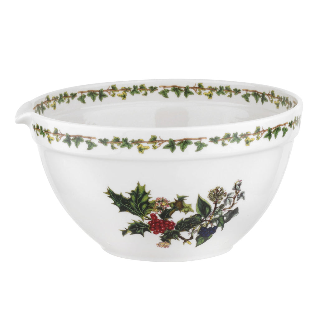 The Holly & the Ivy Mixing Bowl  23cm / 9""