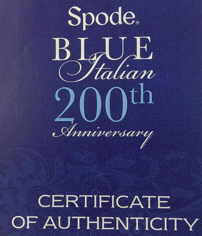Spode Blue Italian 4 Piece Entertaining Set -  Special 200 Year Anniversary Edition