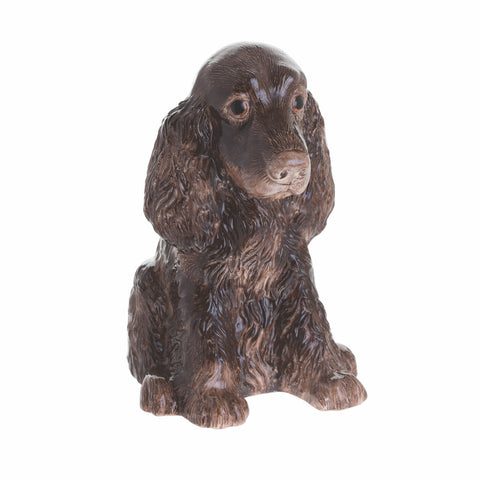 John Beswick Animal Money Bank - Brown Cocker Spaniel