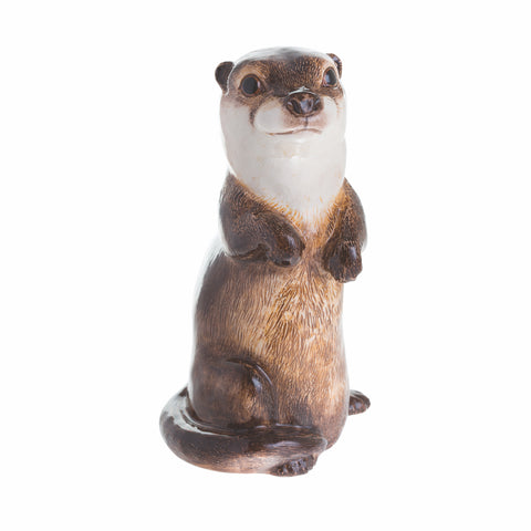 John Beswick Animal Money Bank - Otter
