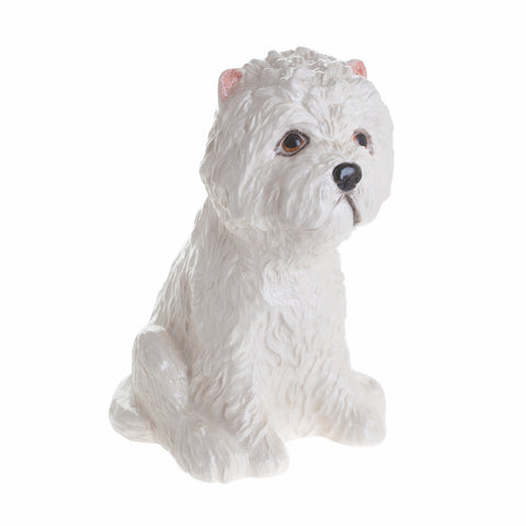 John Beswick Animal Money Bank - Westie
