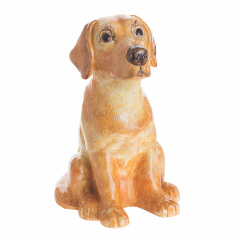 John Beswick Animal Money Bank - Yellow Labrador