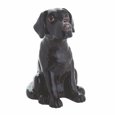 John Beswick Animal Money Bank - Black Labrador