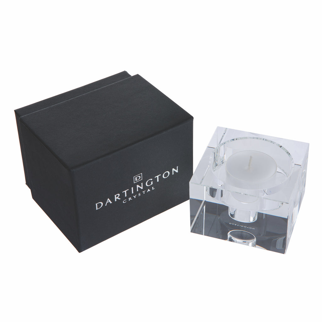 Dartington Crystal Combo Candle Block - Small