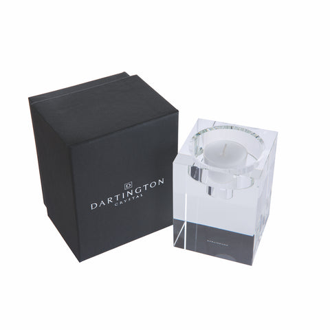 Dartington Crystal Combo Candle Block - Large