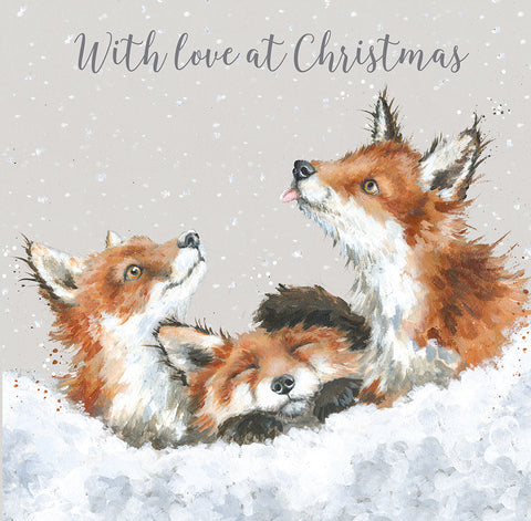Wrendale Snow Angels Luxury Boxed Christmas Cards