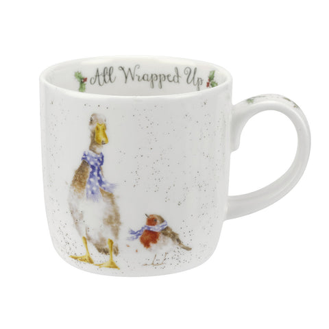 Wrendale Fine Bone China Mug - Christmas Collection