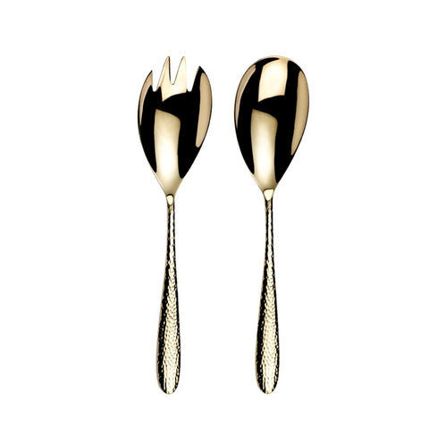 Arthur Price Monsoon Home Champagne Mirage Pair of Salad Servers