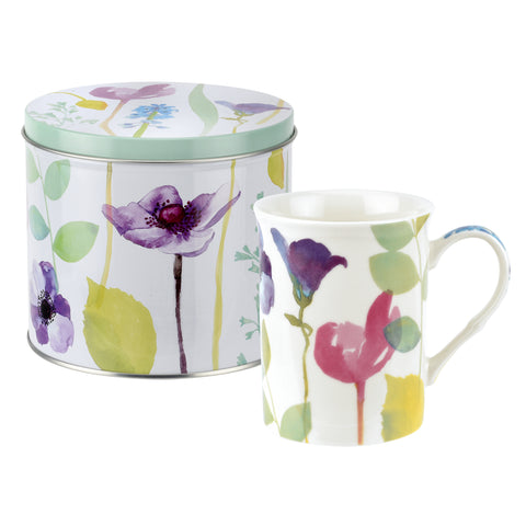 Water Garden Mug & Tin Set