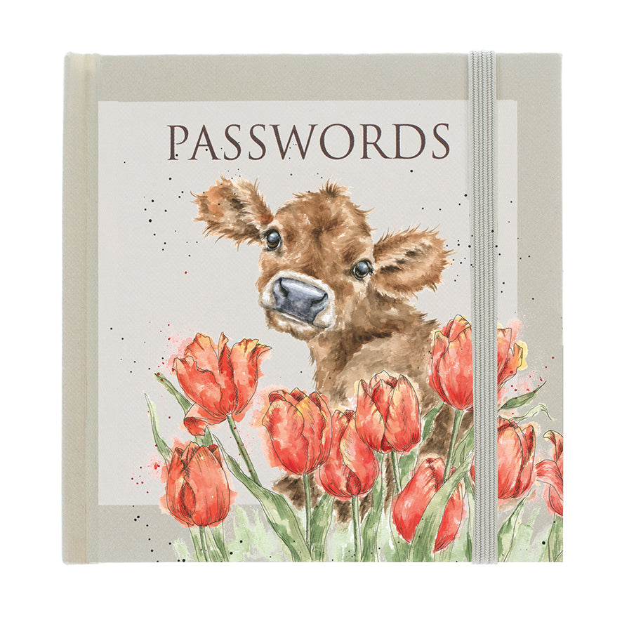 Wrendale Password Book Calf