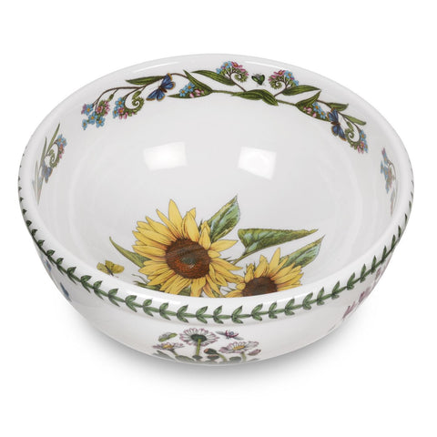 "Botanic Garden Salad Bowl - 25cm / 10"" Sunflower"