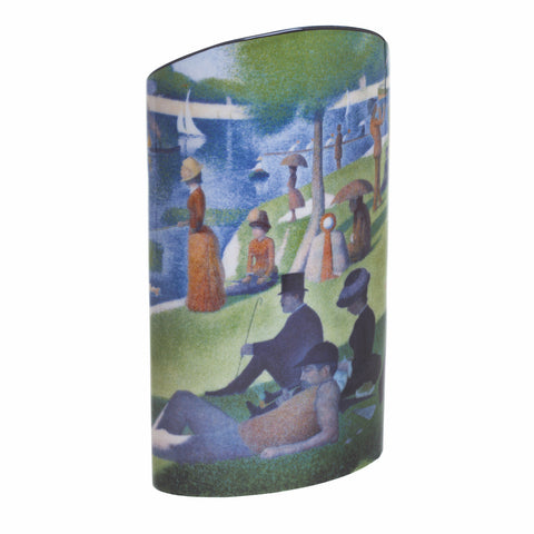 John Beswick Silhouette d'art Vase - George Seurat A Sunday on the Grand Jatte