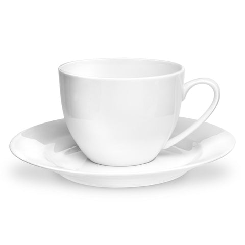 Royal Worcester Serendipity Teacup & Saucer - White