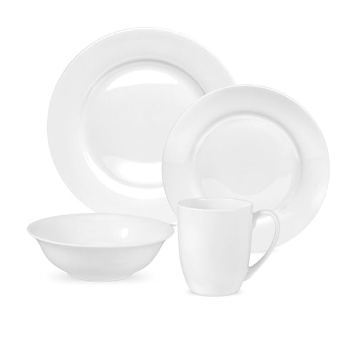 Royal Worcester Serendipity White - 16 Piece Dinner Service