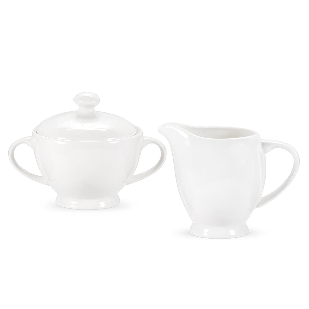 Royal Worcester Serendipity Sugar & Cream Boxed Set - White