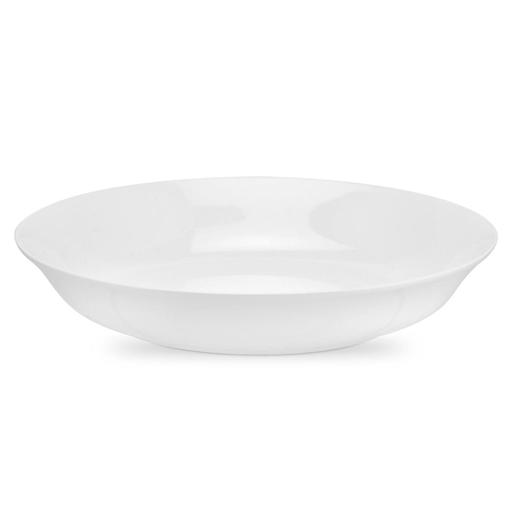 Royal Worcester Serendipity Coupe Shape Pasta Bowl - White