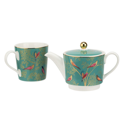 Sara Miller Tea for One Chelsea Collection Green