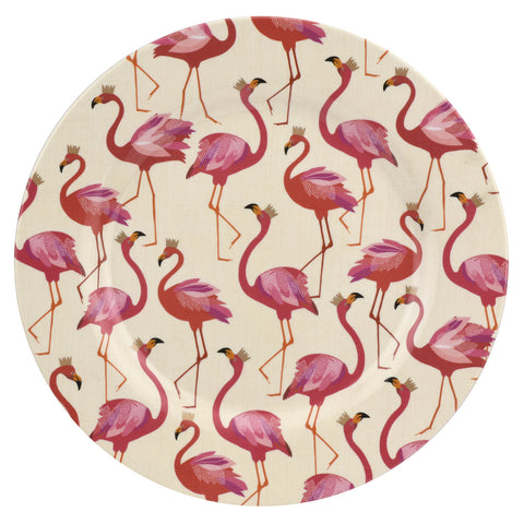 Sara Miller Flamingo Collection Melamine Dinner Plate
