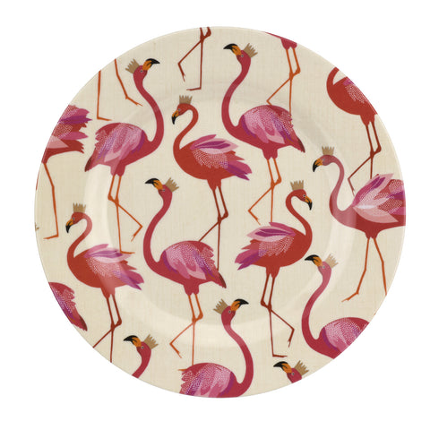 Sara Miller Flamingo Collection Melamine Side Plate