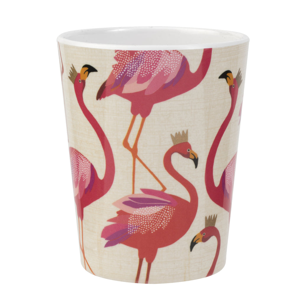 Sara Miller Flamingo Collection Melamine Beaker
