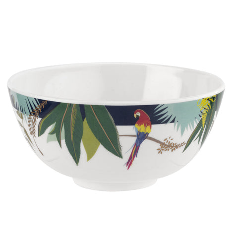 Sara Miller Parrot Collection Melamine Bowl