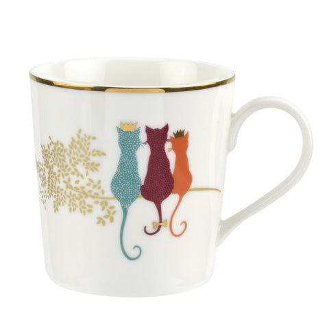 Sara Miller Mug - Piccadilly Collection - Feline Friends