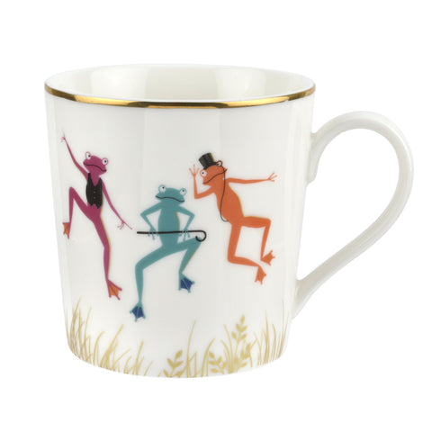 Sara Miller Mug - Piccadilly Collection - Mighty Fine Frogs
