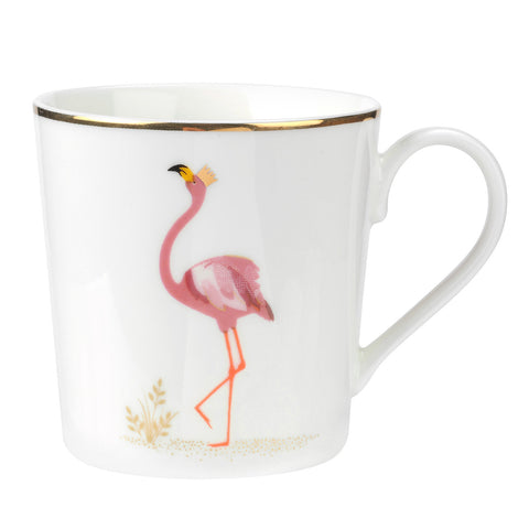 Sara Miller Mug Piccadilly Collection Flamboyant Flamingo