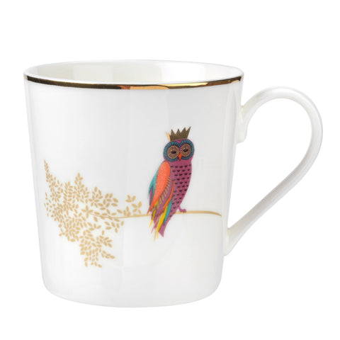 Sara Miller Mug - Piccadilly Collection - Opulent Owl