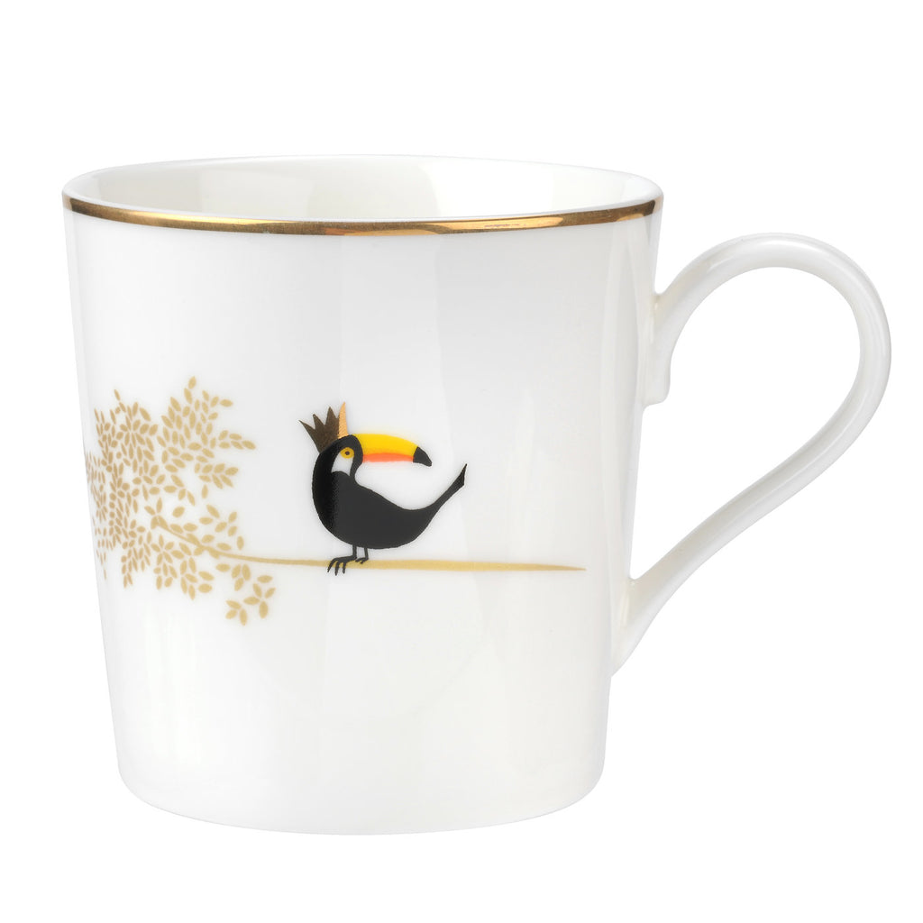 Sara Miller Mug - Piccadilly Collection - Terrific Toucan
