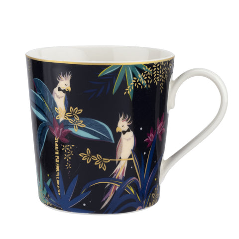 Sara Miller Mug - Tahiti Collection - Cockatoo