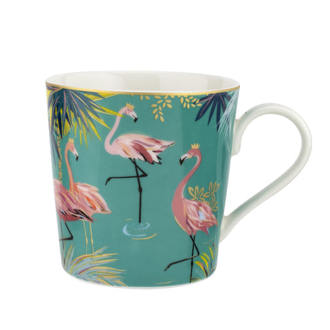 Sara Miller Mug - Tahiti Collection - Flamingo