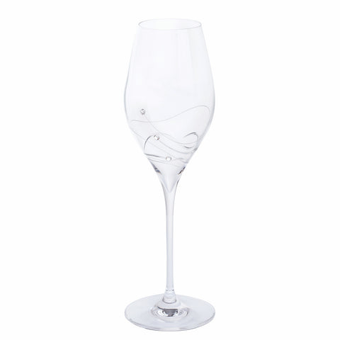 Dartington Crystal Glitz Prosecco Glass Set of 2