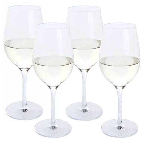 Dartington Crystal Festive Cheer White Wine Glasses (Set of 4)