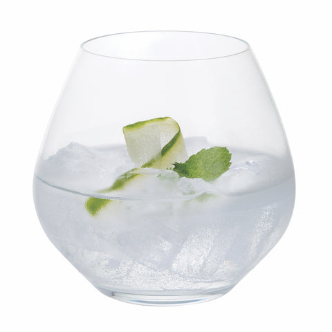 Dartington Crystal Stemless Gin Copa Party Glasses - Set of 6