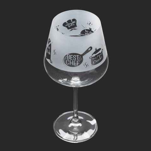 Dartington Crystal Aspect Gin Copa / Wine Glass Cooking