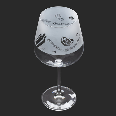 Dartington Crystal Aspect Gin Copa / Wine Glass Gin & Tonic
