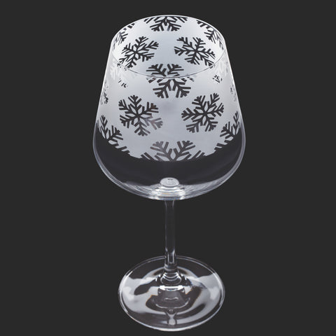 Dartington Crystal Aspect Copa Snowflakes