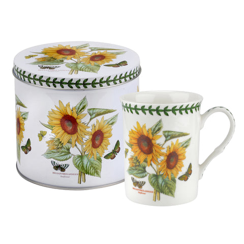 Botanic Garden Sunflower Mug & Tin Set