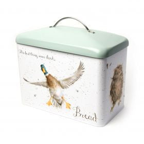 Wrendale Bread Bin - Hare, Duck, Owl & Duck with Chicks